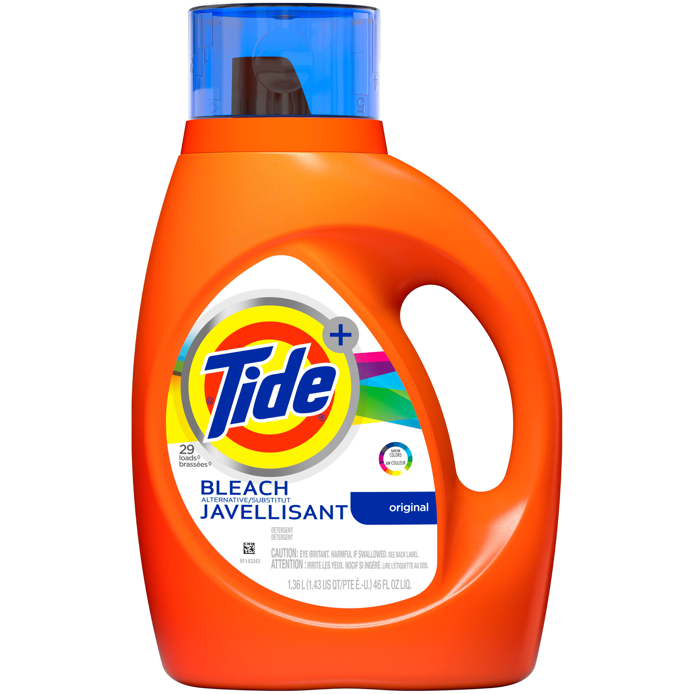 Tide Plus Bleach Alternative Liquid Laundry Detergent - 46oz