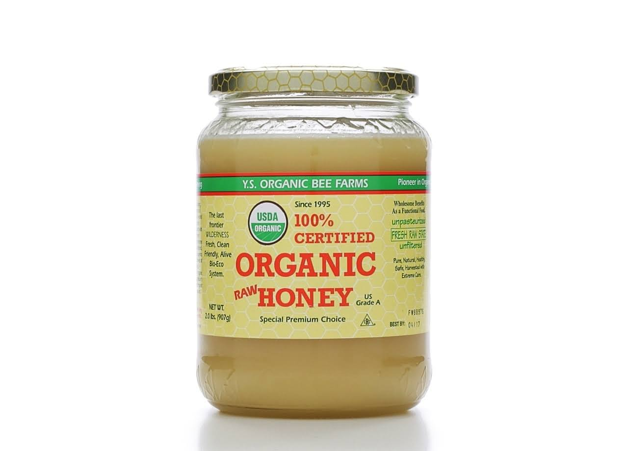 YS Bee Farms Organic Honey - 2 lb