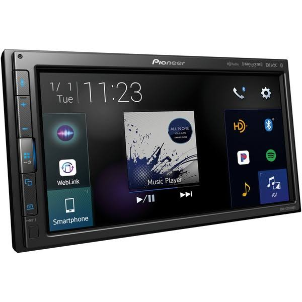 Pioneer Electronics USA Modular In Dash Multimedia Receiver - with Touchscreen, 6.8""