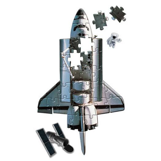 Heebie Jeebies Floor Puzzle - Space Shuttle, 36pcs