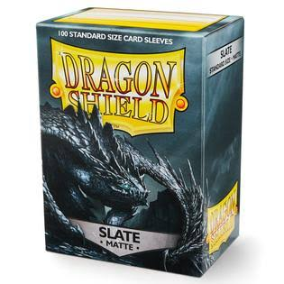 Dragon Shield 100 Standard Deck Protector Sleeves - Matte Slate