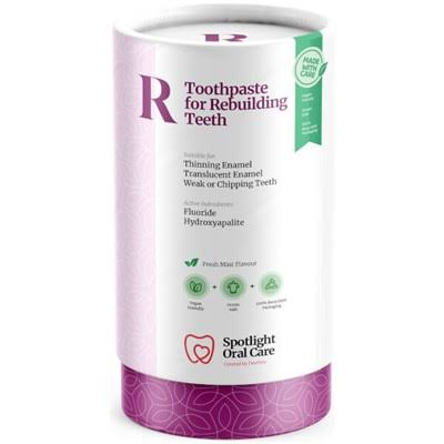 Spotlight Oral Care for Rebuilding Teeth Toothpaste - Fresh Mint Flavour, 100ml