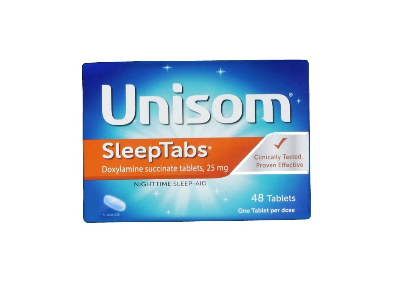 Unisom SleepTabs Nighttime Sleep-Aid Tablets - 48ct