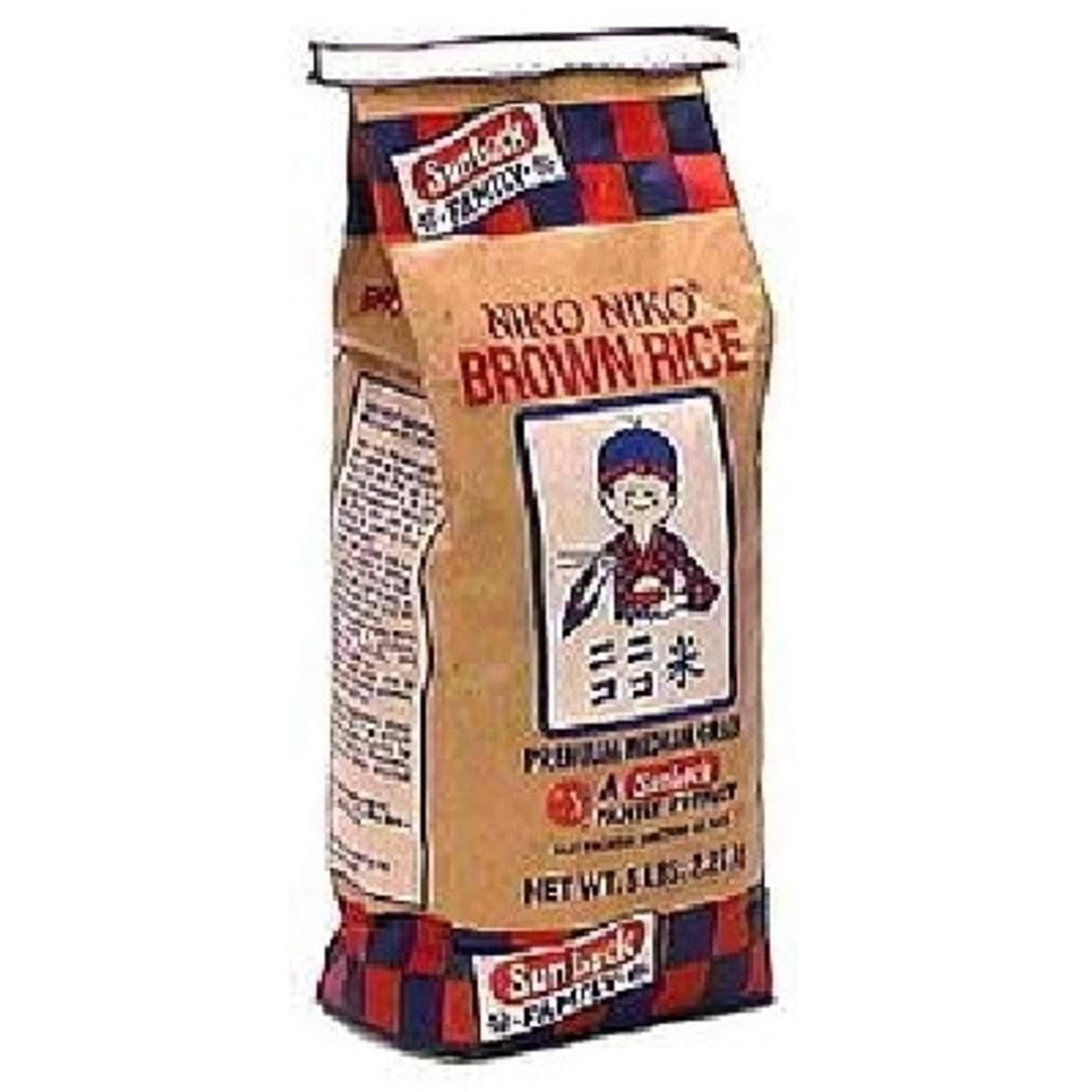 Sun Luck Niko Niko Brown Rice - 5lbs