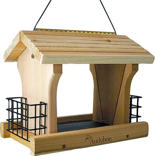 Audubon Large Cedar Ranch Bird Feeder - 12""
