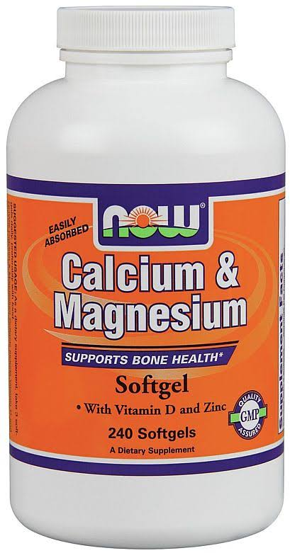 Now Foods Calcium & Magnesium Softgels - x240