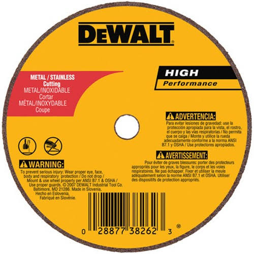 Dewalt Cutting and Grinding Wheel