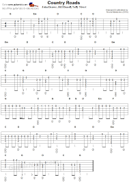 1979 The Smashing Pumpkins Tab by Country Roads Flatpicking Guitar Tablature Gitarre Pinterest