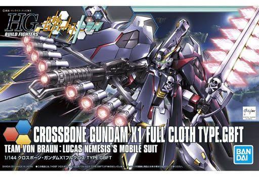 Bandai HG Build Fighters 035 Crossbone Gundam X1 Modle Kit - 1/144 Scale