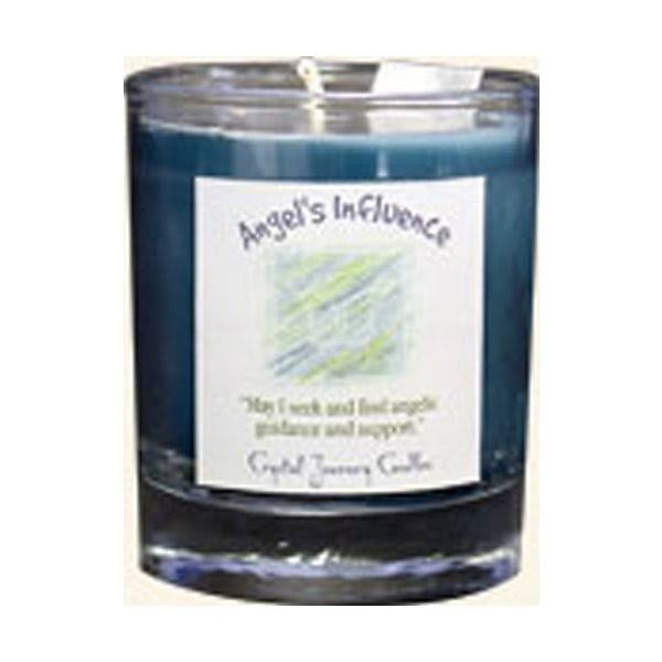 Crystal Journey Herbal Magic Glass Filled Votive Candle