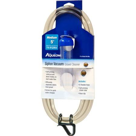 Aqueon Siphon Medium Vacuum Gravel Cleaner 5""