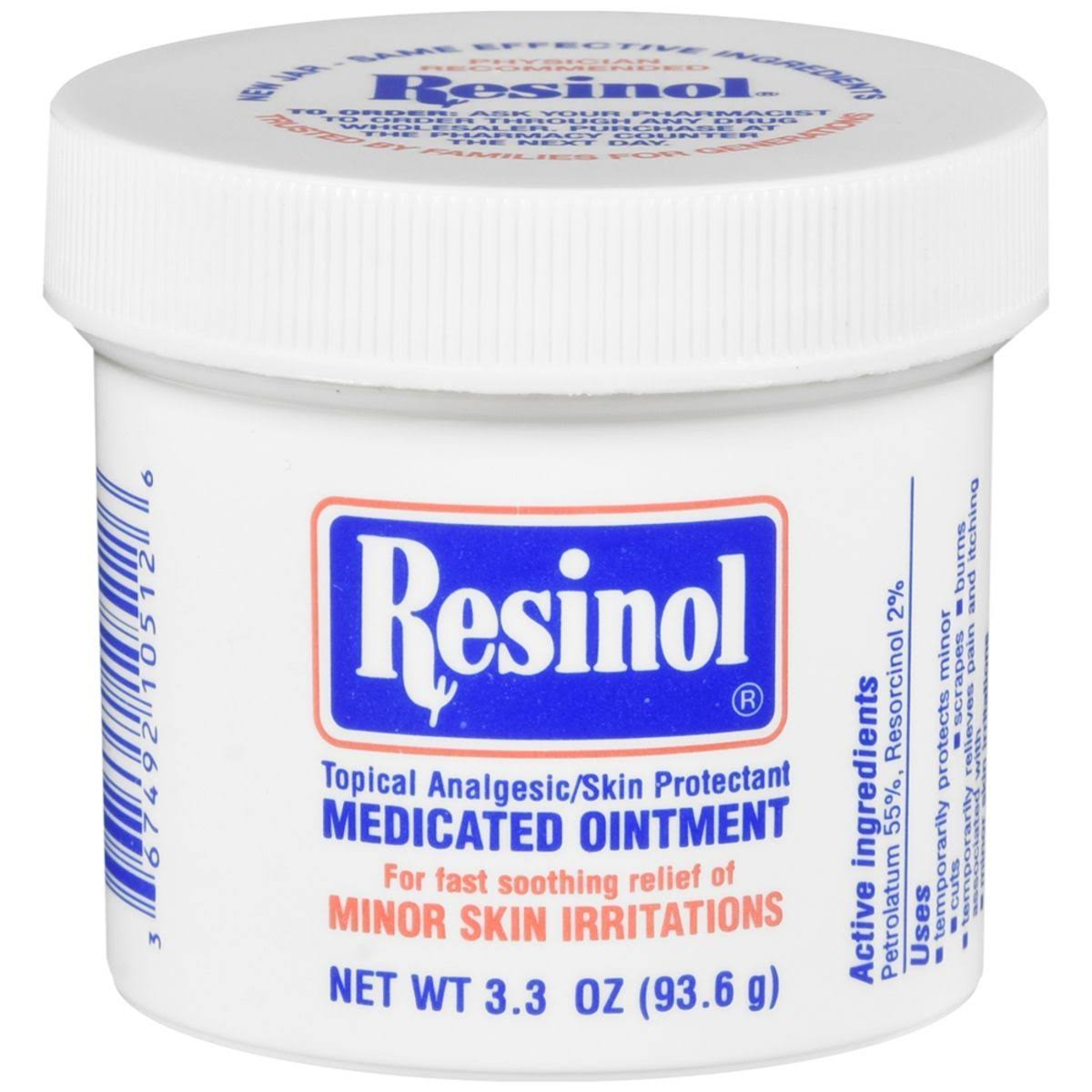 Resinol Medicated Ointment - 3.30oz