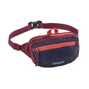 Patagonia LW Travel Mini Hip Pack Bum Bag - Arrow Red