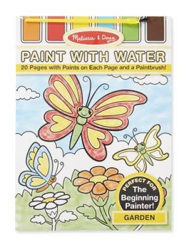 Melissa & Doug Paint with Water - Garden, 20 Pages