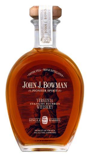 John J Bowman Single Barrel Bourbon Whiskey - 750ml
