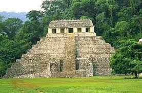 THE TEMPLE OF PALENQUE