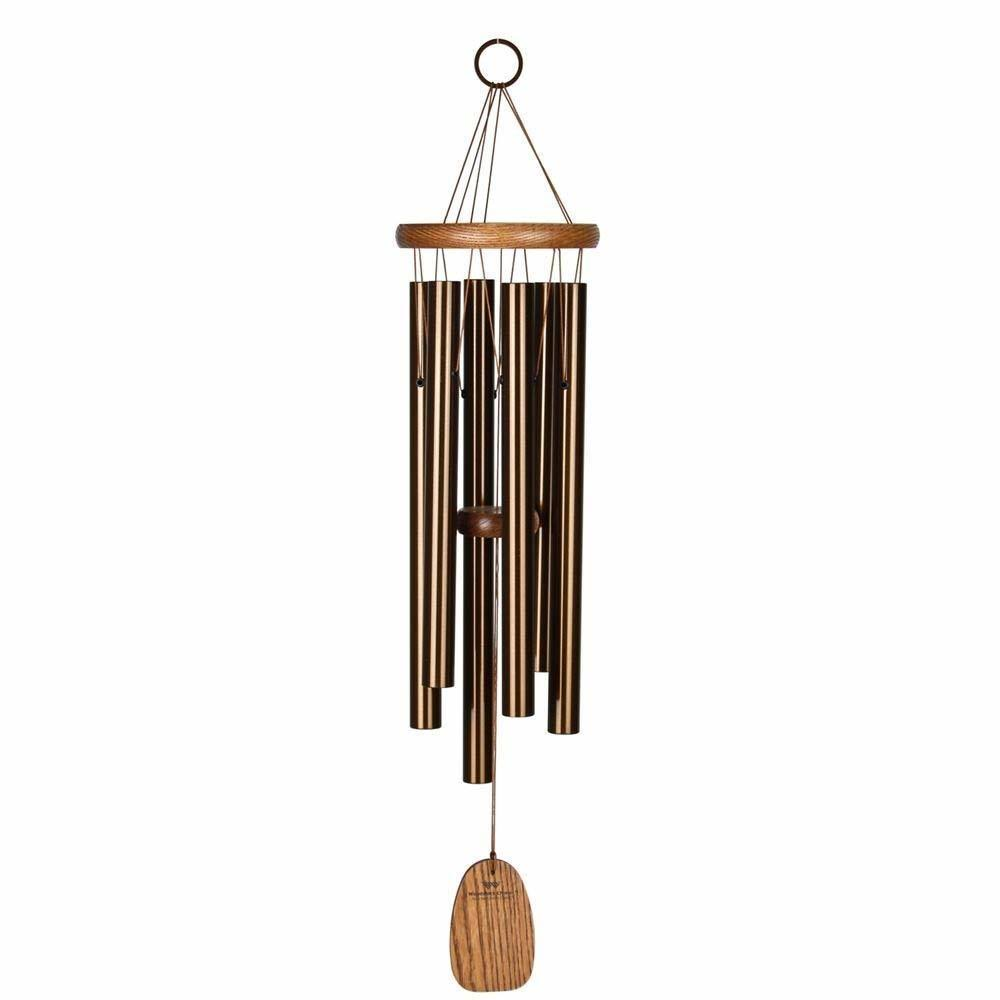 Woodstock Amazing Grace Wind Chime - Medium, Bronze