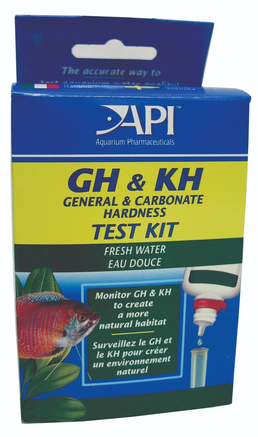 API GH & KH Test Kit - Fresh Water