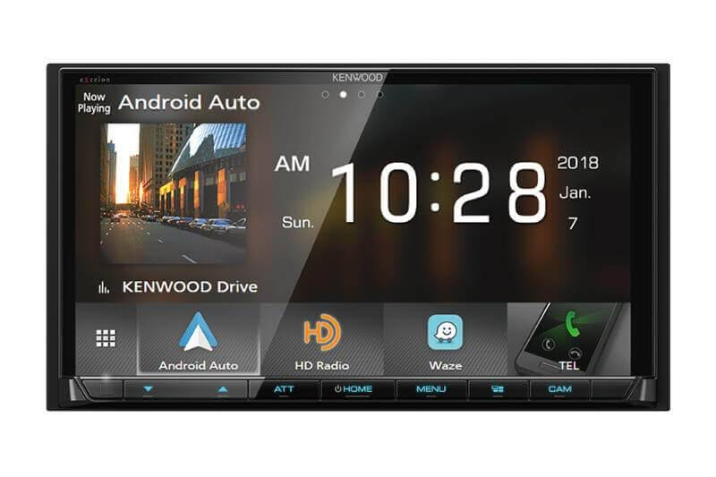 "Kenwood DMX905S 6.95"" Digital Multimedia Receiver Apple CarPlay Android Auto"