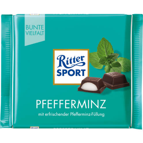 Ritter Sport Dark Chocolate with Peppermint