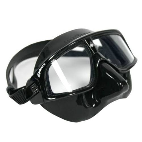 Aqua Sphere Sphera Swim Mask - Black Skirt/Black Frame