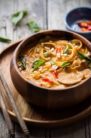 Thai Green Pumpkin Curry Recipe by Spicy Thai Curry Pumpkin Noodle Soup My Food Story