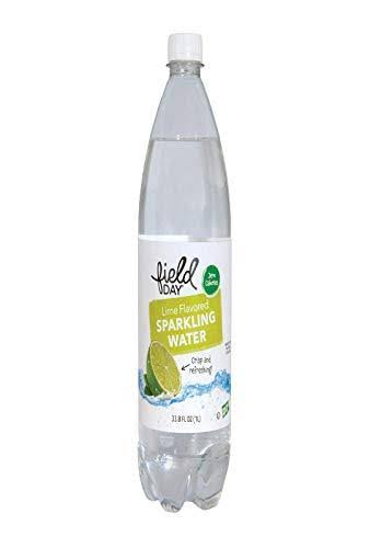Field Day, Sparkling Water; Lime Flavored, Pack of 12, Size - 33.8 FZ,