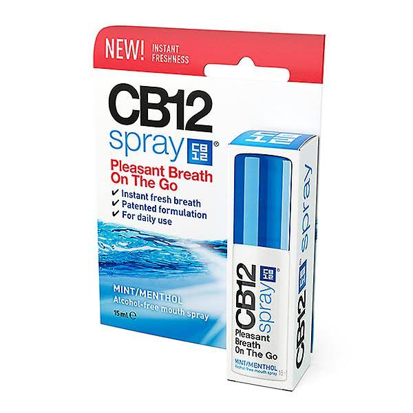CB12 Mouth Spray - 15ml, Mint/Menthol