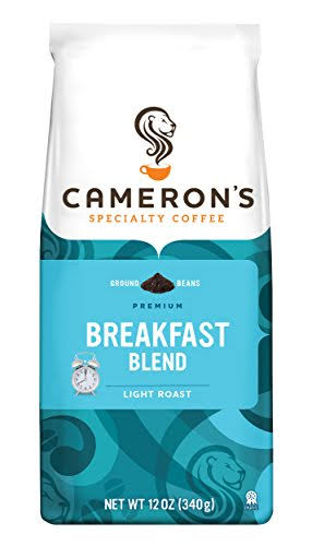 Cameron's Breakfast Blend Premium Ground Beans Handcrafted Coffee - 340g