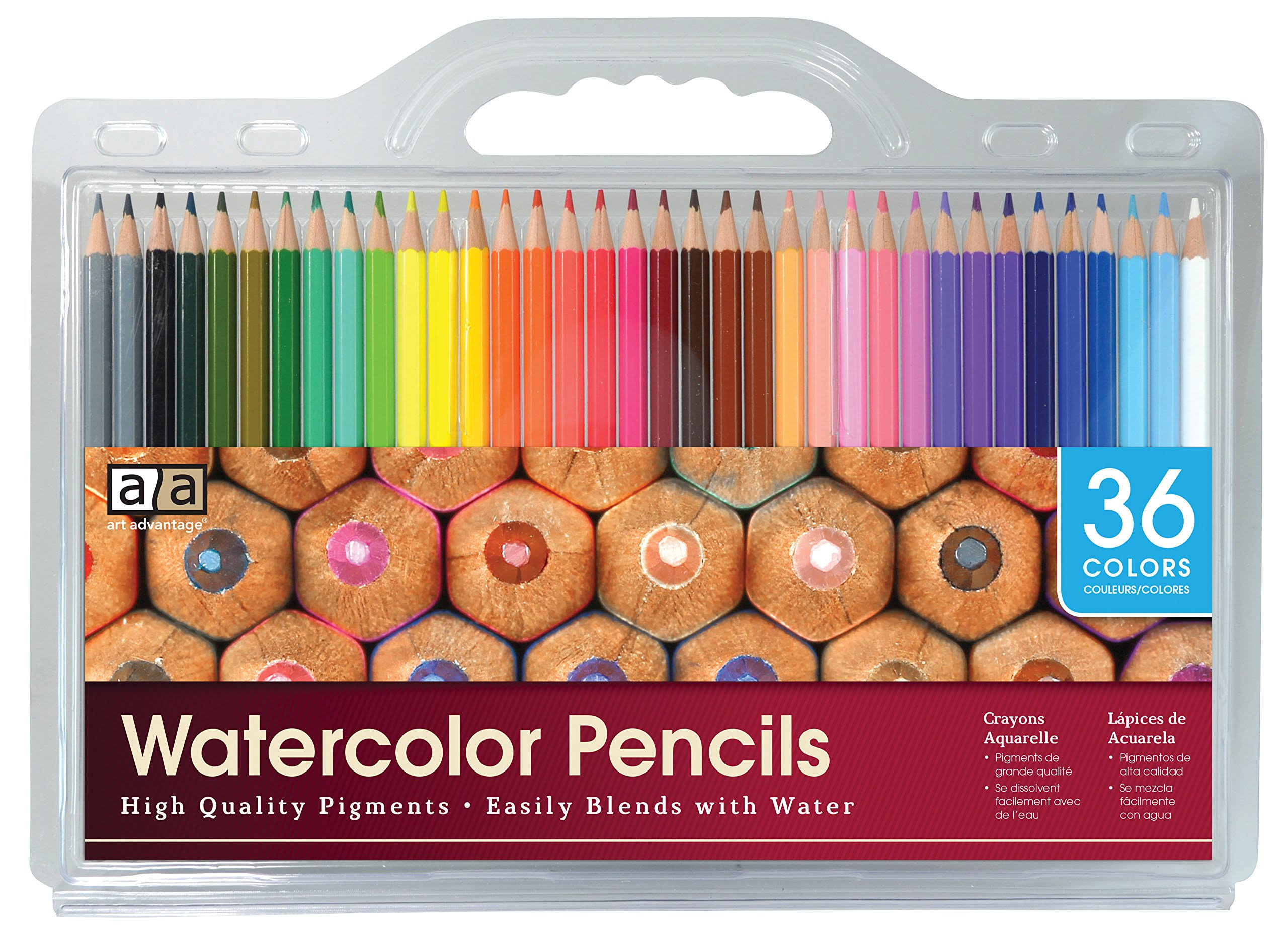 Adornit Watercolour Pencil 36 Pack