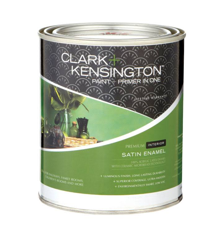 Clark + Kensington Interior Paint and Primer in One Latex Satin Enamel , HardwareOnlineStore