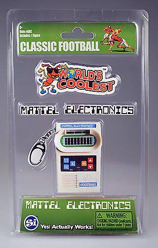 World's Coolest Mattel Electronic Football Game