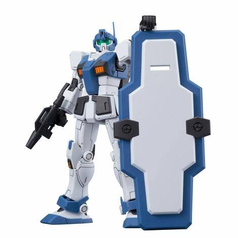 Bandai Gundam Hg The Origin 1/144 GM Guard Custom Model Kit