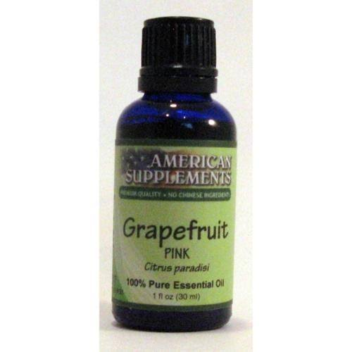 American Supplements Grapefruit (Pink) Essential Oil - 1 oz Oil