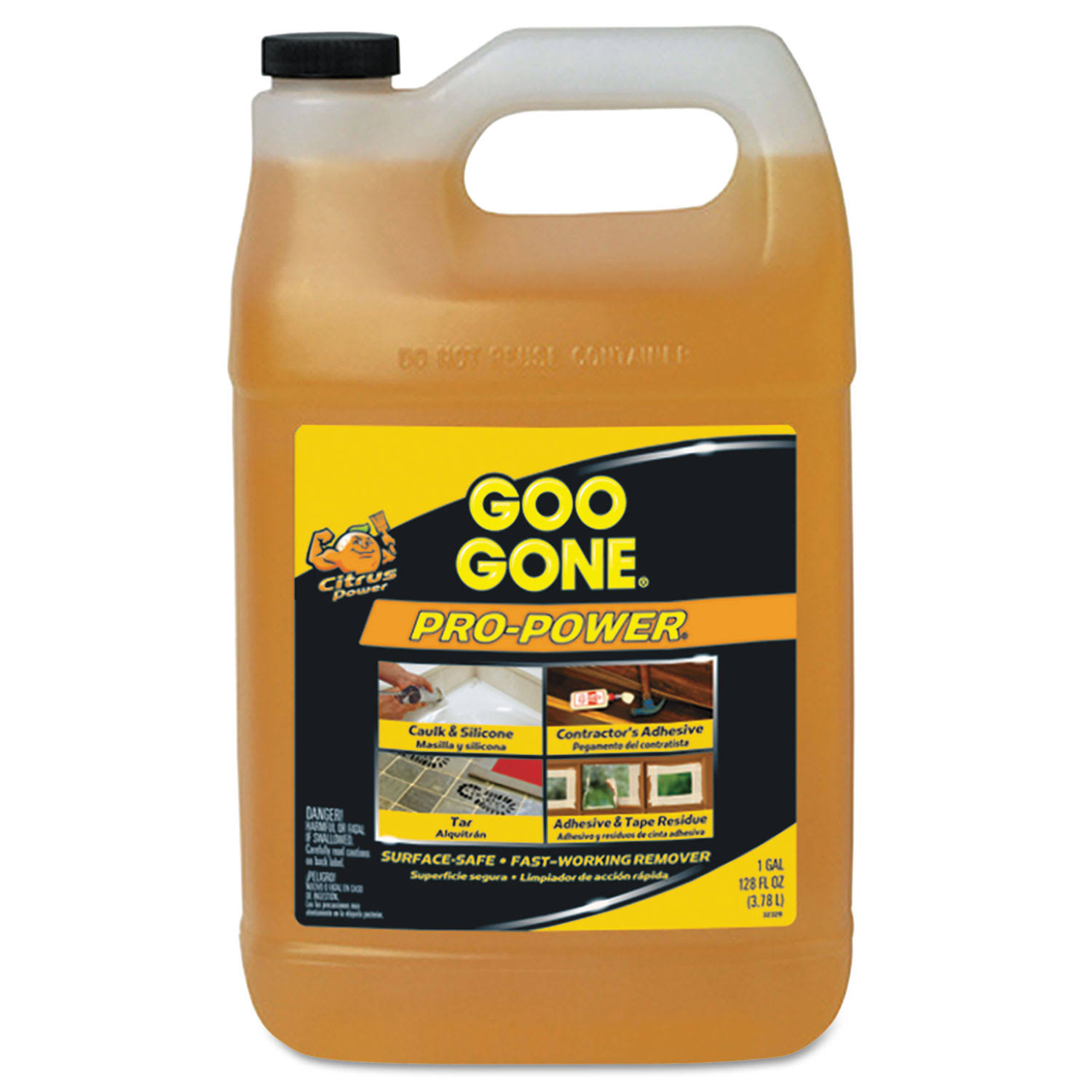 Goo Gone Pro-power Cleaner - Citrus Scent, 1gal