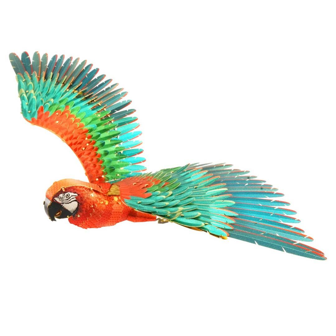 Fascinations ICONX Jubilee Parrot 3D Metal Model Kit