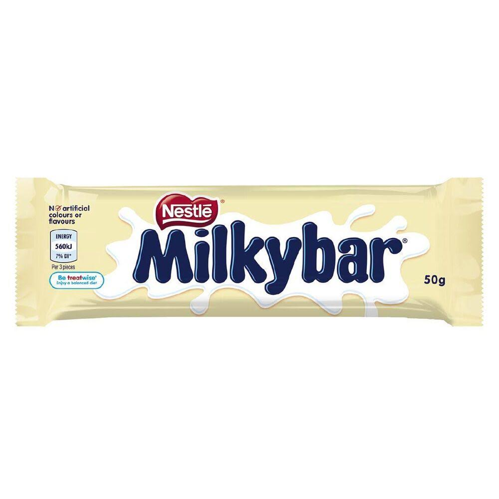 Nestle Milkybar Chocolate Bar - 50g