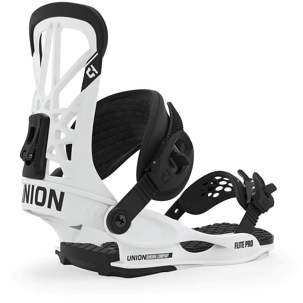 Union 2020 Flite Pro Snowboard Bindings - White