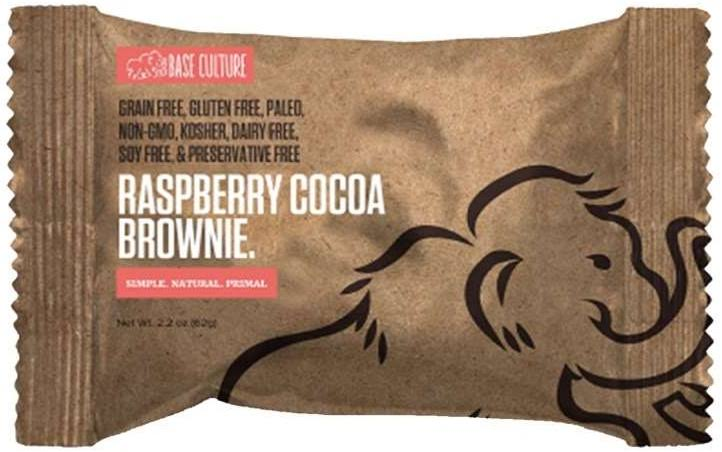 Base Culture Brownie, Raspberry Cocoa - 2.2 oz