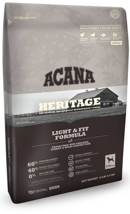 ACANA - Heritage Light & Fit Formula Dog Food - 12 oz