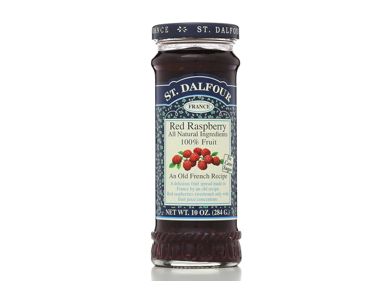 St. Dalfour Red Raspberry Fruit Spread - 284g