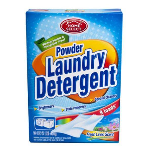 Home Select Powder Laundry Detergent - 16oz