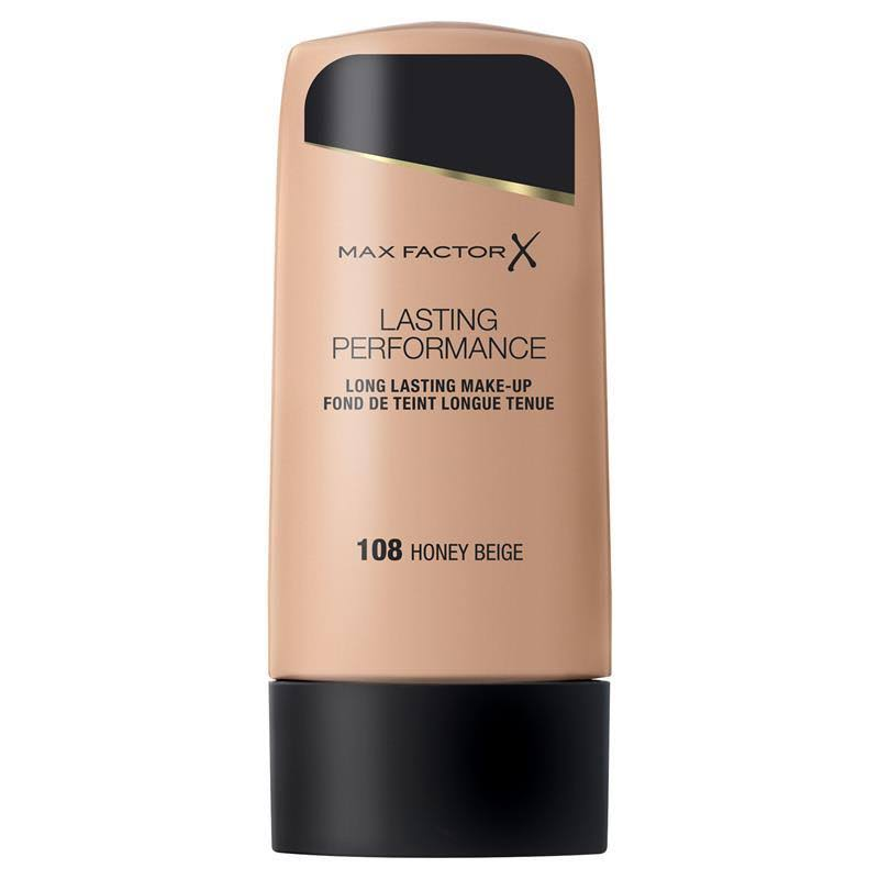Max Factor Lasting Performance Foundation - 108 Honey Beige, 35ml