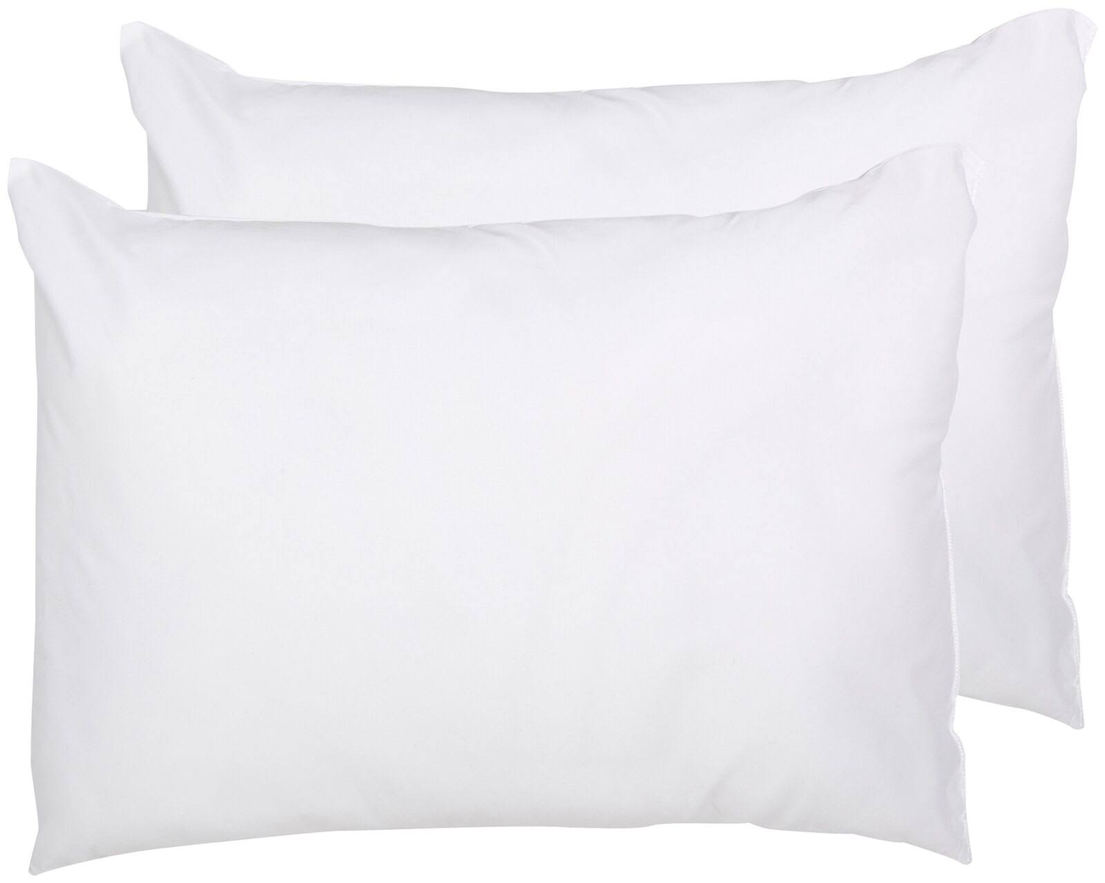 Snuggle Twin Pack Bed Pillows White