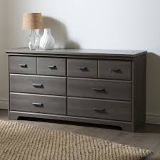 Hemnes 6 Drawer Dresser Grey Brown by Bedroom 6 Drawer Double Dresser Wardrobe Cabinet In Grey Maple