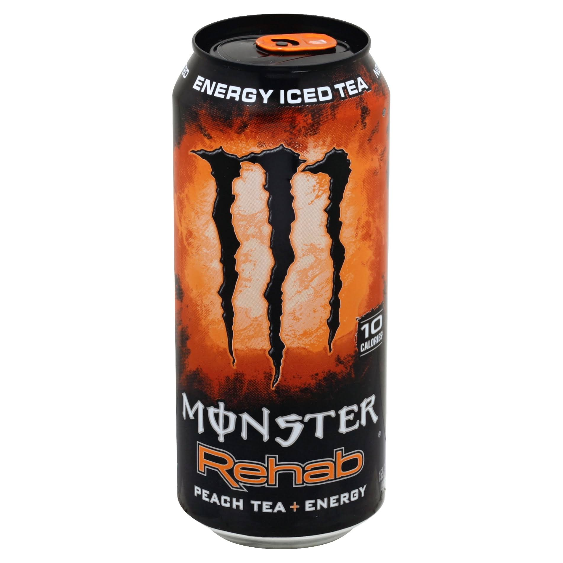 Monster Rehab Energy Drink - Peach Tea And Energy