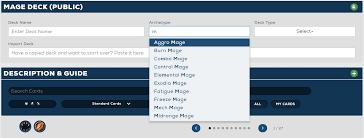 Hearthstone Beginner Decks Mage by Hearthhead Update Guide Revamp Deck Import Export