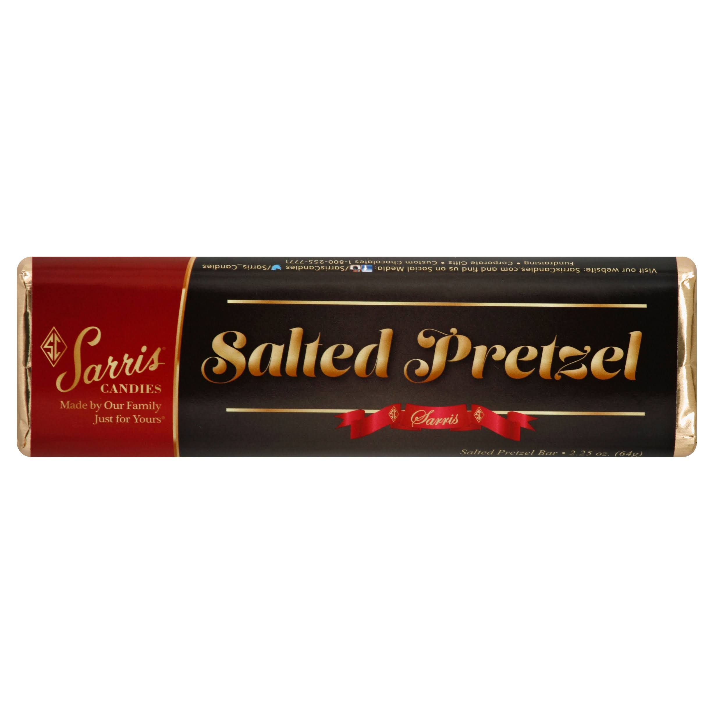 Sarris Candies Salted Pretzel Bar - 2.25 oz