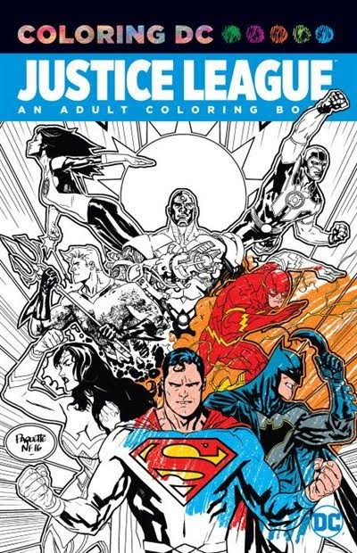 Justice League: An Adult Coloring Book - DC Comics