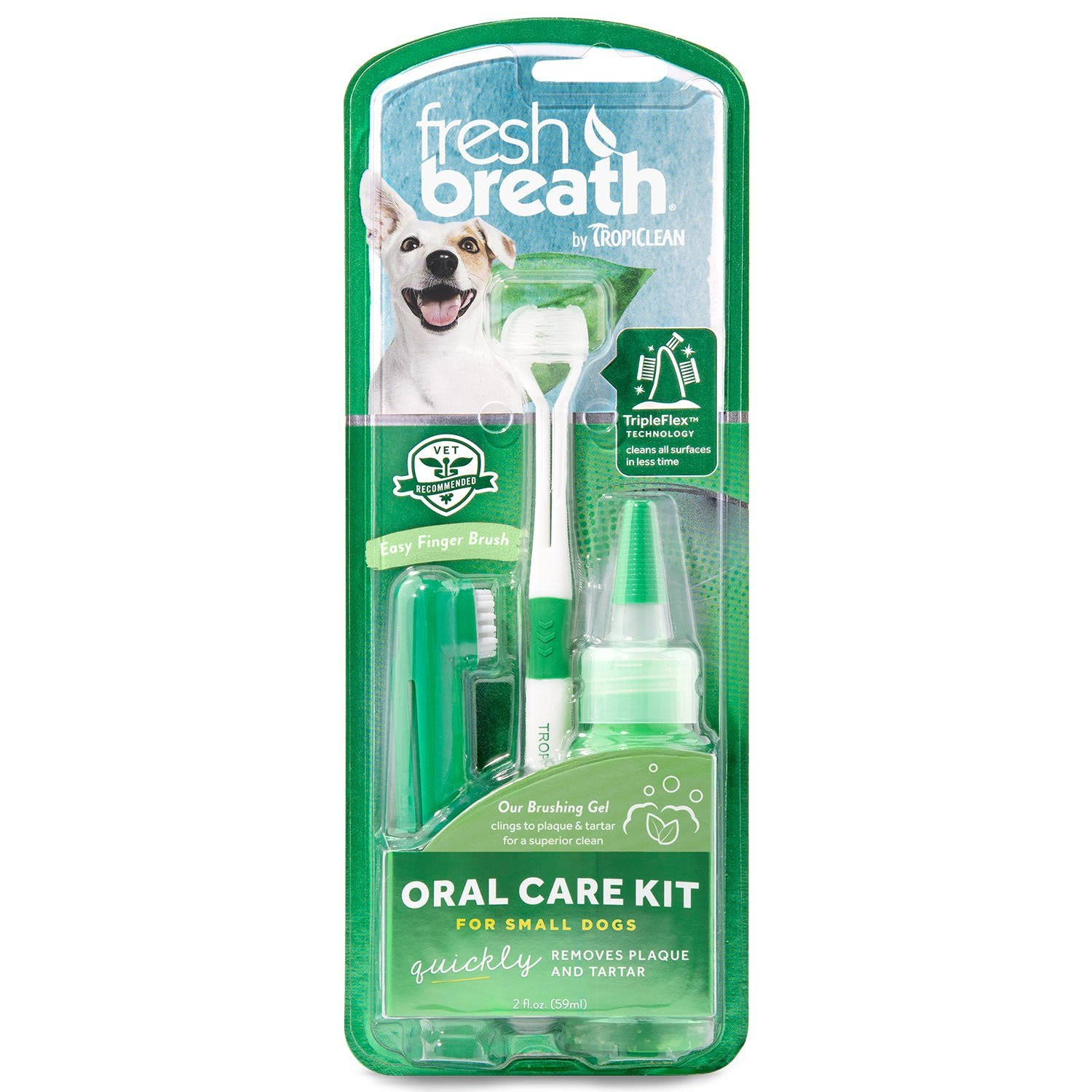 Tropiclean Fresh Breath Pet Oral Care Kit - Small